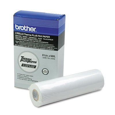 3 Pack 6890 ThermaPlus Paper Roll, 98ft Roll, 2/Pack by BROTHER INTL. CORP. (Catalog Category: Paper, Envelopes & Mailers / Paper Rolls, Office Machine / Fax Machine