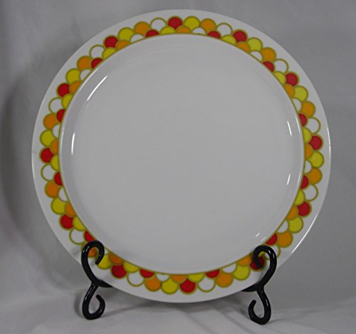 (Boutique Fine China, Georges Briard Carousel Pattern Dinner Plates, Set of 4)