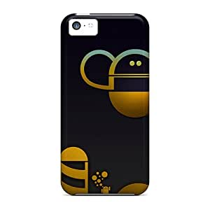 New Customized Design Android World Yellow For Iphone 5c Cases Comfortable For Lovers And Friends For Christmas Gifts