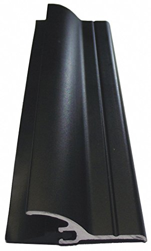 Door Sweep, Dark Bronze Aluminum, 48'' Length, 1-1/4'' Flange Height, 1/2'' Insert Size by Pemko