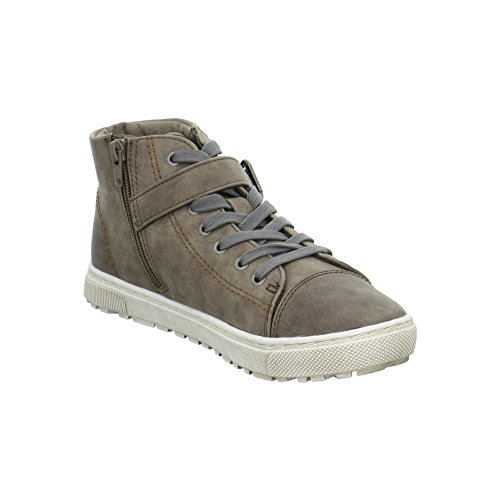 A+w Women's 8-8-25262-27-341 Hi-Top Slippers Brown JkqVPCv