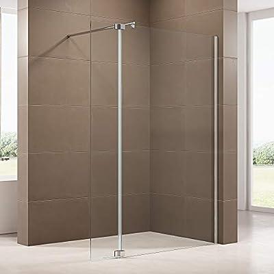 Mampara de ducha Walk-in con protección antisalpicaduras NT109 8 ...