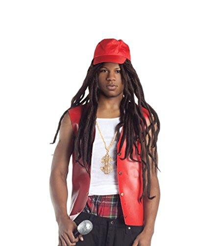 Lil Wayne Wig With Hat Rapper Weezy Dreadlocks