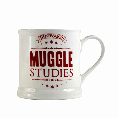 Harry Potter Mug Vintage Muggle Studies Bone China Official White Boxed