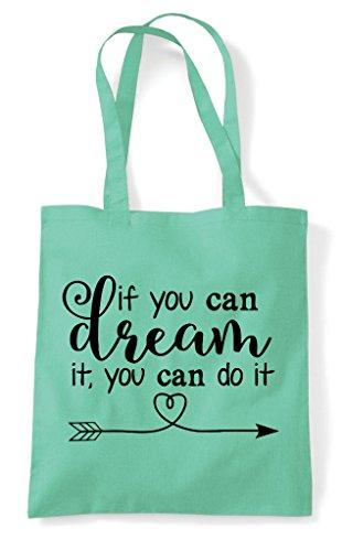 It Dream Do You Tote If Bag Mint Can Shopper nHxOC4