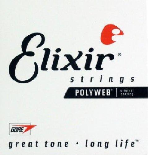 Elixir Strings Steel Guitar String.011
