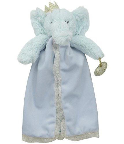 Mud Pie Women's Elephant Prince Lovie Blue One Size