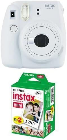 Fujifilm Instax Mini 9 Kamera Smoky Weiß Mit Film Kamera