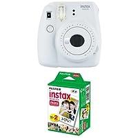 Fujifilm Instax Mini 9 Kamera smoky weiß mit Film