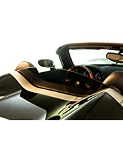 DEFLECTAIR™ - Wind Deflector for Pontiac Solstice Convertible - Black