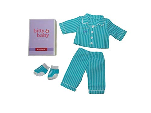 "American Girl Bitty Twin Pinstripe Pajamas for 15"" Dolls (Doll Not Included)"