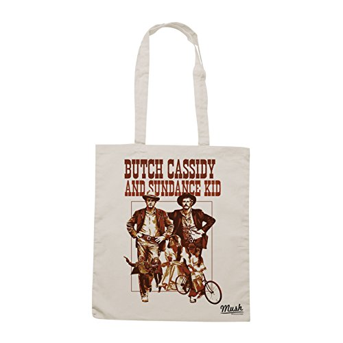 Borsa BURCH CASSIDY AND SUNDANCE KID WESTERN - Sand - FILM by Mush Dress Your Style