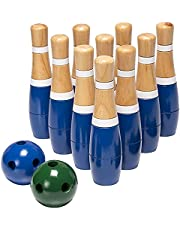 Achtertuin Gazon Bowling Game Outdoor Fun Houten Gazon Bowling Set Tieners Familie Gazon Bowling Game Indoor Home Bowlingbanen Kinderspeelgoed Bowling Set