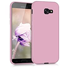 kwmobile Chic TPU Silicone Case for the Samsung Galaxy A5 (2017) in antique pink matte