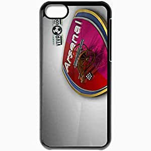 Personalized iPhone 5C Cell phone Case/Cover Skin Arsenal Arsenal Football Black by icecream design