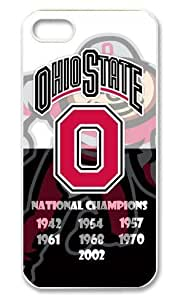 Gdragonhighfive The Ohio State University NCAA Ohio State Buckeyes Case / Cover for iPhone 5 (Black) by icecream design