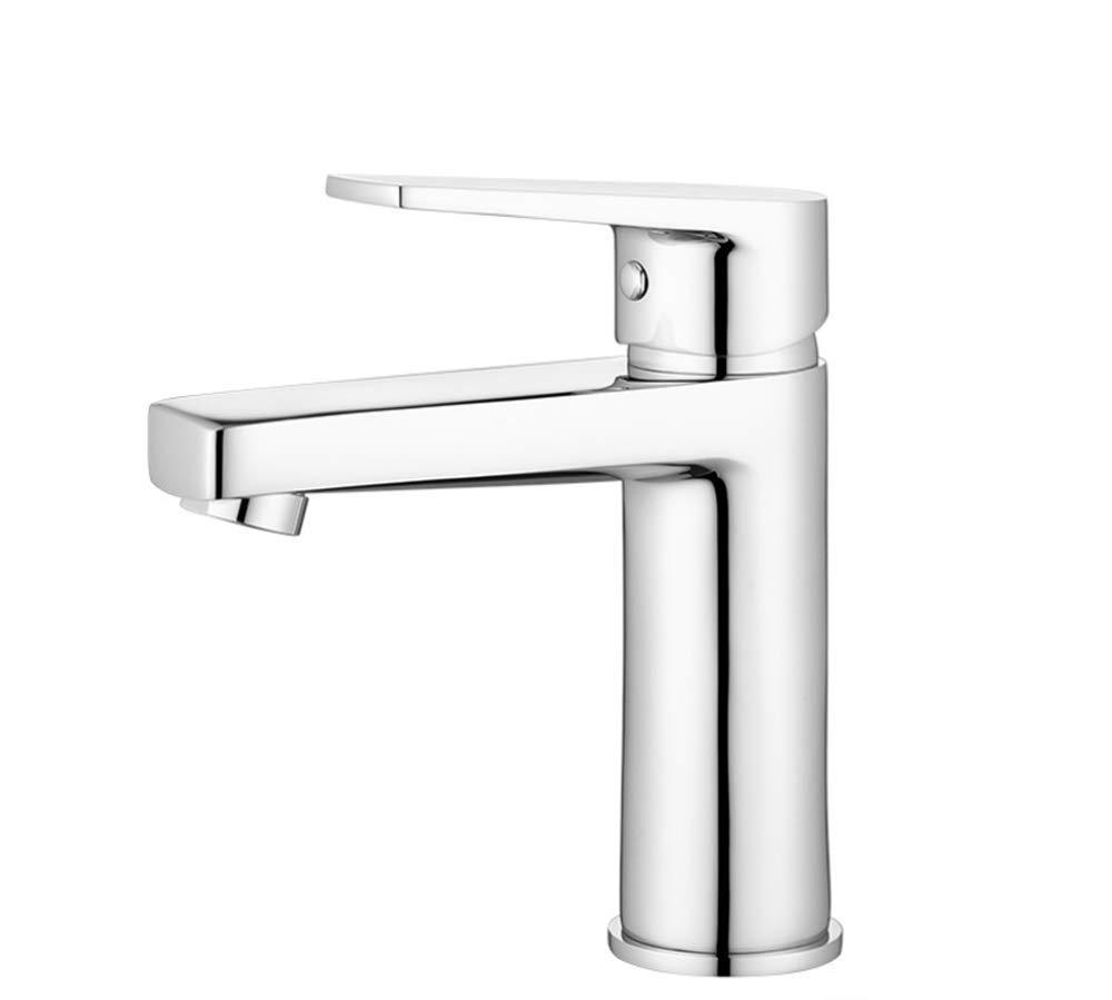 Basin Faucetbathroom Copper Main Body Single Hole Single Cold Washbasin Table Faucet