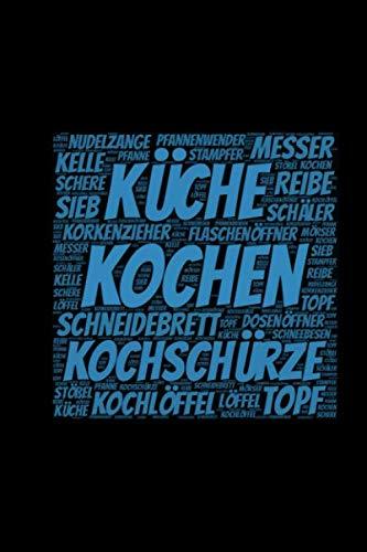 Kochen: A5 Notizblock mit 120 Seiten freien Seiten | Hobby und Leidenschaft für alle Küchenbewohner | Notizen für deine Rezepte (German Edition) (Rezept Leidenschaft)