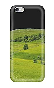 Durable Defender Case For Iphone 6 Plus Tpu Cover(green Nature)