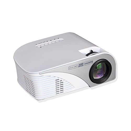 Pyle Video Projector 1080p Full HD Digital Multimedia Mini Home Theater Cinema - Compact, Portable with Remote, LCD Led Lamp Display Screen, HDMI & USB Inputs for TV, Laptop, PC & Computer - (PRJG95) by Pyle