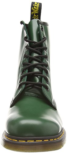 Green Leather Martens Boot Classic Dr 1460 Men's Smooth qwXUvWRW
