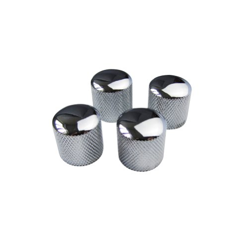 guitar control knobs chrome - 3