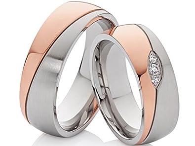 2 Eheringe Trauringe Verlobungsringe Hochzeitsringe Aus Edelstahl