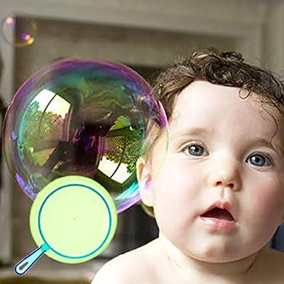 JUSTDOLIFE 6PCS Kids Bubble Wand Big Bubble Making Toy Bubble Maker Bubble Stick: Toys & Games