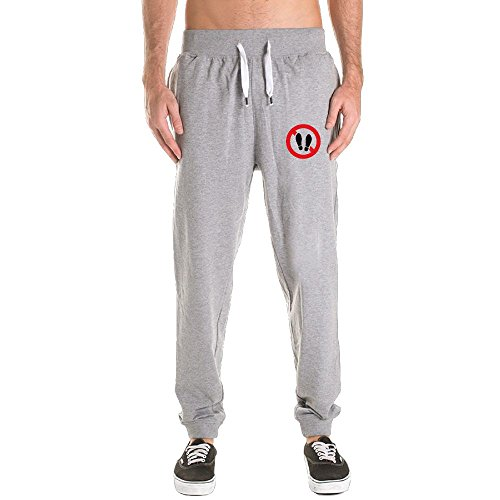 Aishadad Ban On Shoes Men's Elastic Hem Eco Fleece Sweatpant - En Espanol Ban
