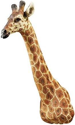 Design Toscano African Giraffe Trophy Wall Sculpture