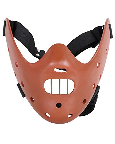 The Silence of the Lambs Mask Halloween Resin (Alois Trancy Costume Cheap)