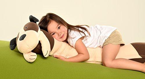 Yogibo Roll Mate 3.5 Foot Body Pillow for Kids (Dog)
