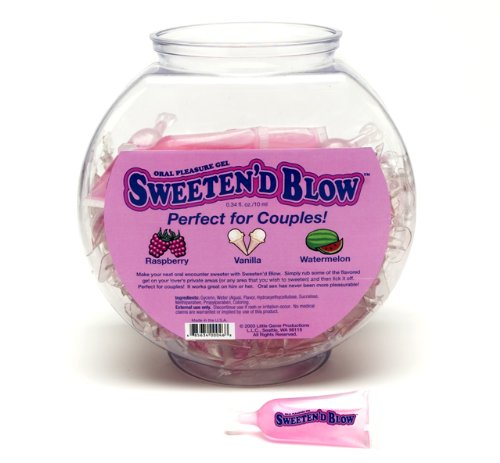 Sweeten D Blow 72 Pc Fishbowl by Saphorix