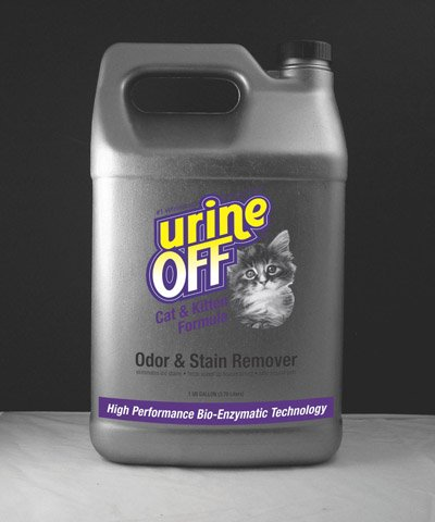 Urine Off Odor and Stain Remover for Cats, 1 Gallon, My Pet Supplies