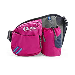 Waist Pack Water Bottle Holder Fanny Pack Hip Pack