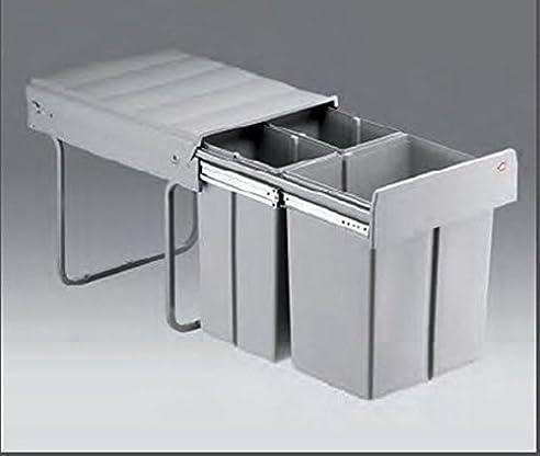 Wesco Trio-Master-Maxi 40 DT 1x20 / 2x10 Liter Küchen Mülleimer ...