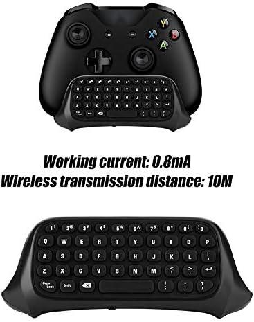 Lxquxing Équipement électronique, Petit Clavier de Commande sans Fil, Clavier de Conversation sans Fil de contrôleur for Xbox One / 47 Touches/adopte 2.4G / Noir Ordinateur