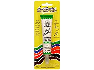 Aunt Martha Ballpoint Paint Tube Green