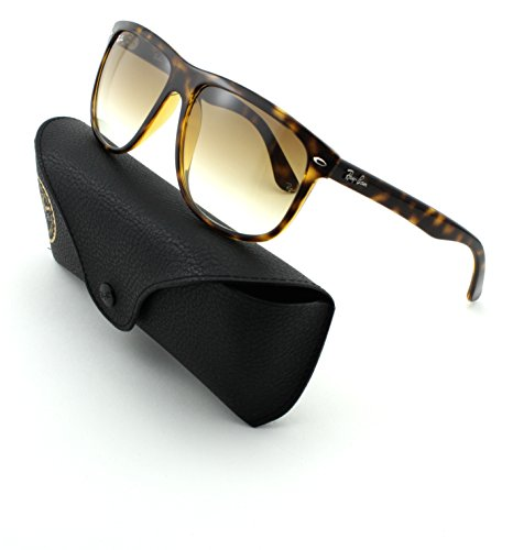 Ray-Ban RB4147 Unisex Square Sunglasses (Light Havana Frame/Crystal Brown Gradient Lens 710/51, - Ban Ray 51 710 Rb4147