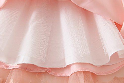 0 la de bebé bautismo Ropa 24 tutú M del ZAMME del del princesa Infantil vestido xqInTZ7