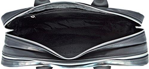 Borsa Messenger Cartella Unisex Nero/Grigio Alviero Martini Bag Unisex Black/Grey La Mejor Compra Envío Libre Toma Venta Caliente De La Venta Barato Con Mastercard Precio Barato FVHlmVx