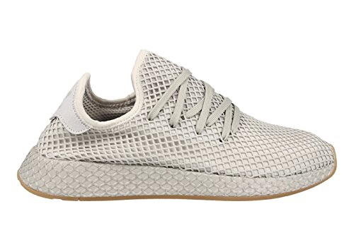 adidas Herren Deerupt Runner Gymnastikschuhe Hellgrau (Grey Three/Lgh Solid Grey/Gum 1)