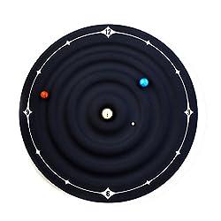 Microtimes Galaxy Magnetic Clock wall clock The creative Planets Designs wall clock