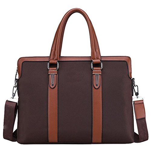 Briefcase Fashion Business Handbag Brown1 Messenger Men Computer Leisure Wild Bag 6wtqn47