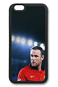 6 Plus Case iPhone 6 Plus Cases Rooney On Old Trafford TPU Back Cover Skin Soft Bumper Case for Apple iPhone 6 Plus