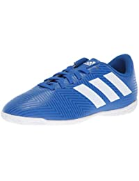 Adidas Unisex Nemeziz Tango 18.4 Indoor Soccer Shoe, Zest/Black/Solar red