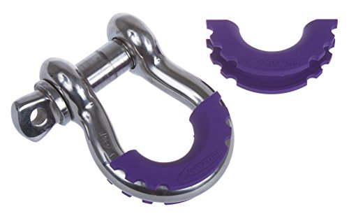 Daystar-KU70056PR-D-Ring-Shackle-Isolator-for-Jeep-24WD-Pair-Purple