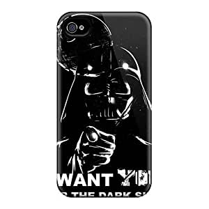 Excellent Design Death Star Star Wars Phone Case For Iphone 4/4s Premium Tpu Case