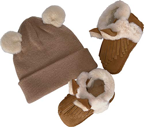 - UGG Kids Baby Girl's Darlala Boxed Set (Infant/Toddler) Chestnut Medium M M