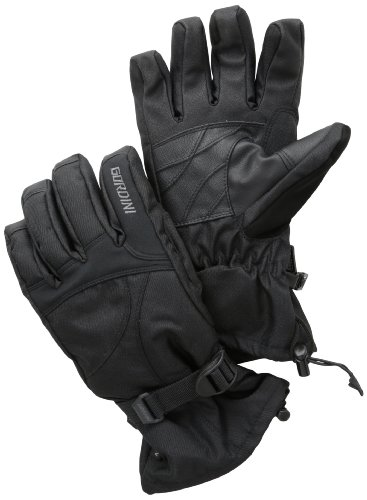 Gordini Men's Aquabloc Down Gauntlet II Gloves, Black, Large
